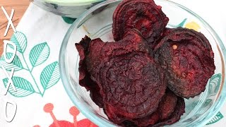 How To Make Beet Chips - W/ Spicy Honey Dip
