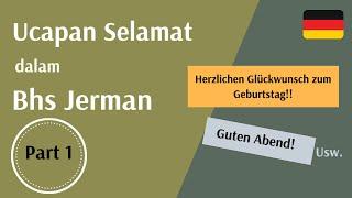Ucapan Selamat dalam Bahasa Jerman // auf Deutsch gratulieren - safiralidina