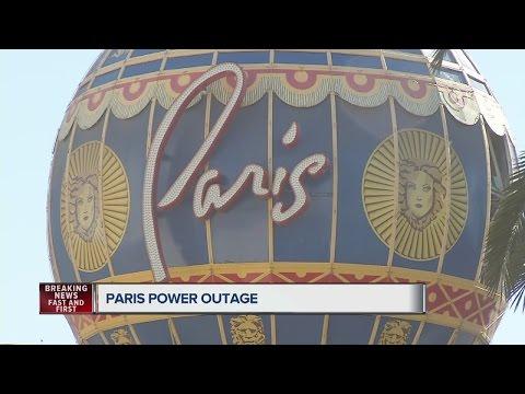 UPDATE: Power fully restored to Paris Las Vegas