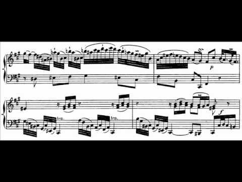 Hamelin plays C.P.E. Bach - Sonata in A, W.55 No. 4 Audio + Sheet music