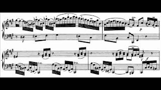 Hamelin plays C.P.E. Bach - Sonata in A, W.55 No. 4 Audio + Sheet music