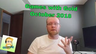 Games With Gold October 2018