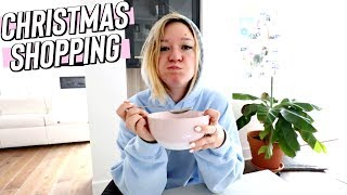 last minute christmas shopping cause i procastinate! vlogmas day 21