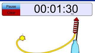 3 minute timer Rocket!