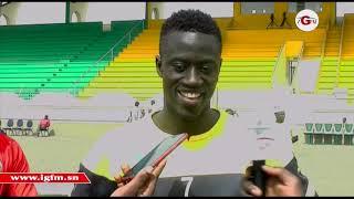 """Ibrahima Niane (U23, Sénégal) : """"Nous avons une certaine responsabilité"""""""