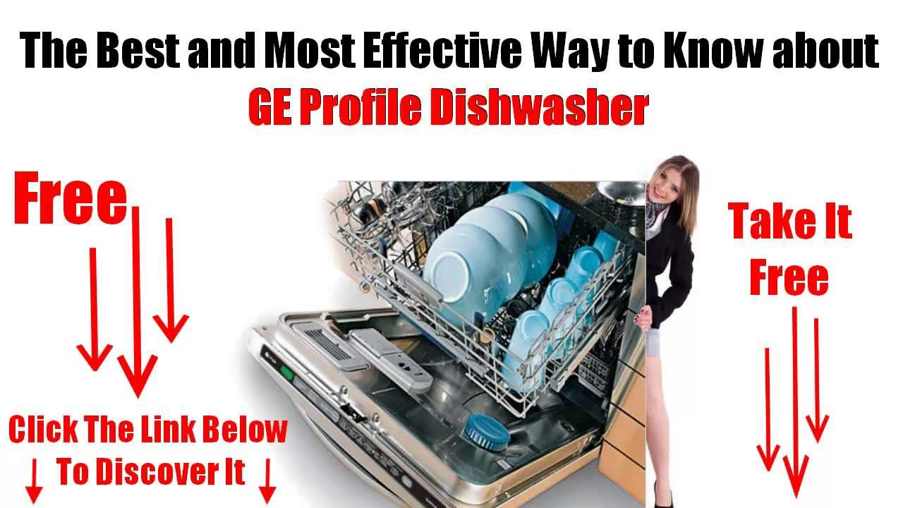 Ge Profile Dishwasher Filter Ge Profile Dishwasher Youtube
