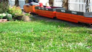 Mini Train at Iron Kettle Farm