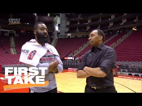 Stephen A. Smith Goes 1-on-1 With James Harden | First Take
