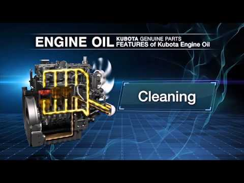Kubota Engine America - KUBOTA GENUINE OIL