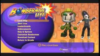 Xbox LIVE Arcade Game - Bomberman LIVE
