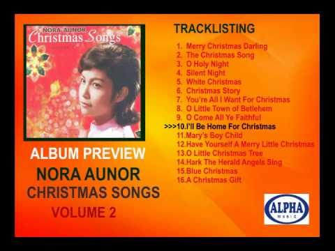 Nora Aunor Christmas Songs Volume 2 Album Preview