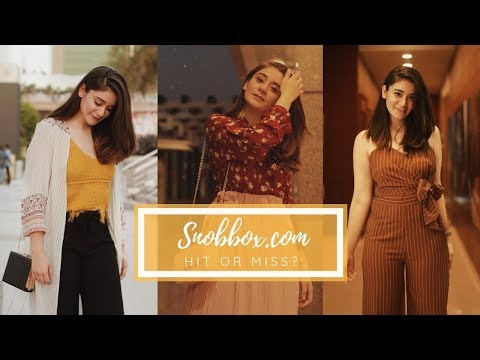 Getting A Personal Fashion Stylist in India with Snobbox.com | Sana Grover