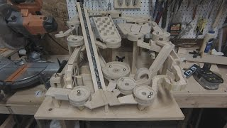 Mini Golf Marble Machine Build, Part 6 (It works!)