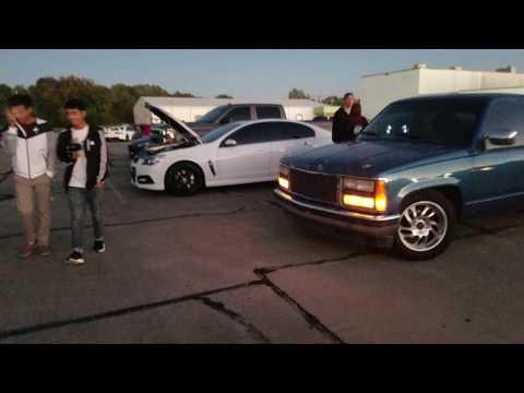 Tulsa Street scene car show