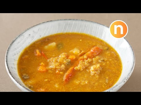 Malaysian Dhal Curry   Curry for Roti Canai   Kari Dal   Indian Dhal Curry [Nyonya Cooking]