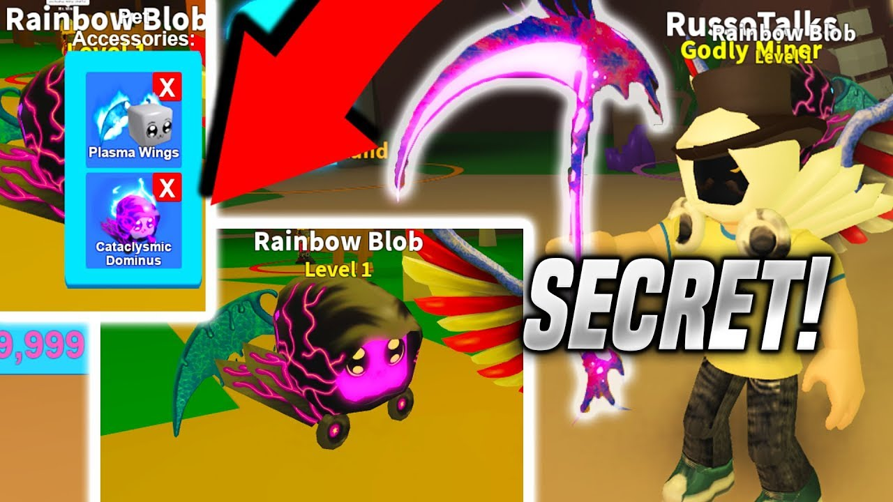 New Mythical Scythe And Mythical Pet Unreleased Roblox Mining