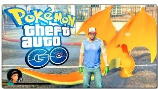 POKEMON GO EN GTA 5 | CON POKEPARADAS EN TODO LOS SANTOS | + COMO INSTALAR | #PokemonGO
