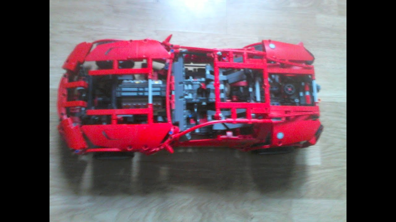 lego technic sport car voiture de sport youtube. Black Bedroom Furniture Sets. Home Design Ideas
