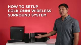 Learn How to Set Up Wireless Surround Sound with the Polk Omni App