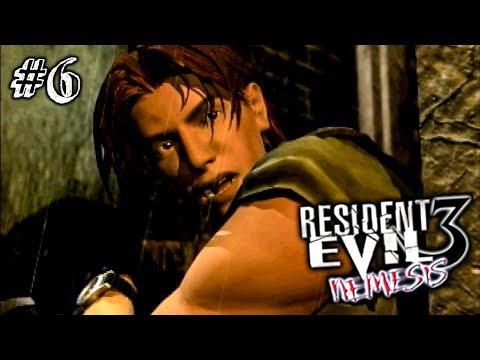 СПАСЕНИЕ ДЖИЛЛ! ► Resident Evil 3: Nemesis Прохождение #6 ► ХОРРОР ИГРА