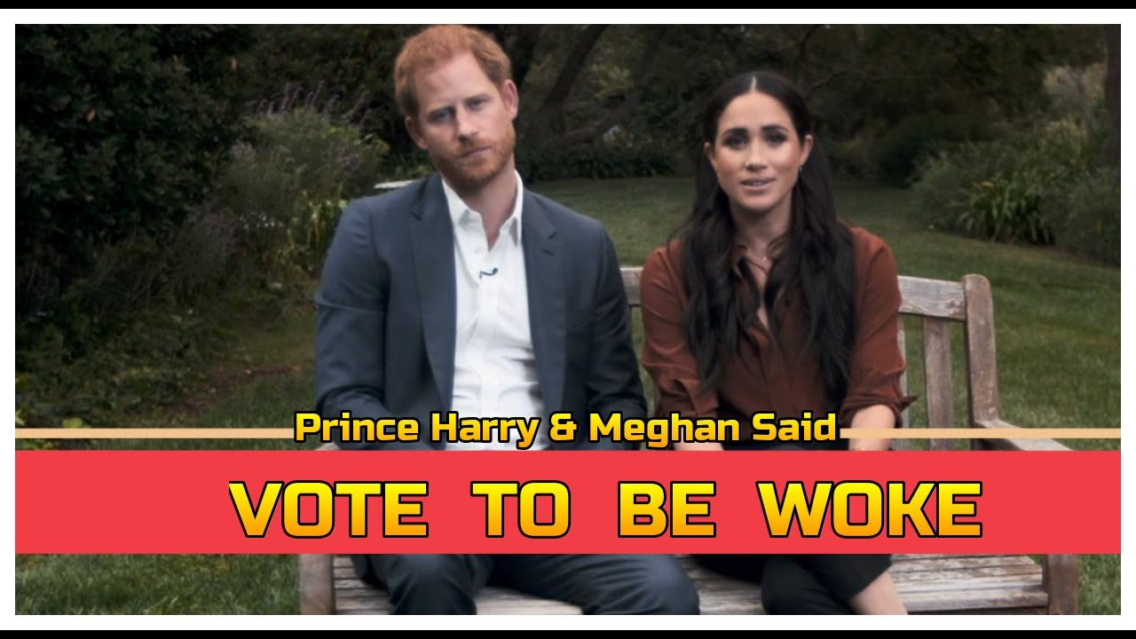 Prince Harry and Meghan SAID TO VOTE TO BE WOKE