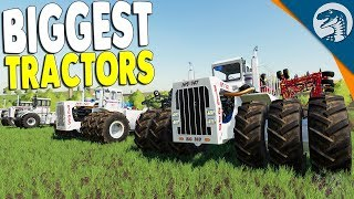 BIG BUD Most POWERFUL Tractors EVER Over 1,000 Horse Power | Farming Simulator 19 Gameplay