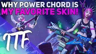 Why Power Chord Is My Favorite Skin (Fortnite Battle Royale)
