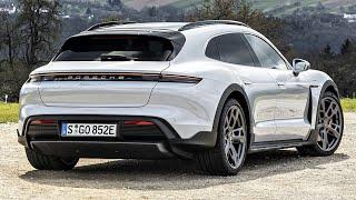 2022 Porsche Taycan (4 Cross Turismo) interior, exterior (full review) porsche taycan 2022!