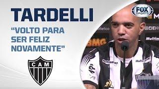 ELE VOLTOU! Veja a apresentação de Diego Tardelli, novo atacante do Atlético Mineiro