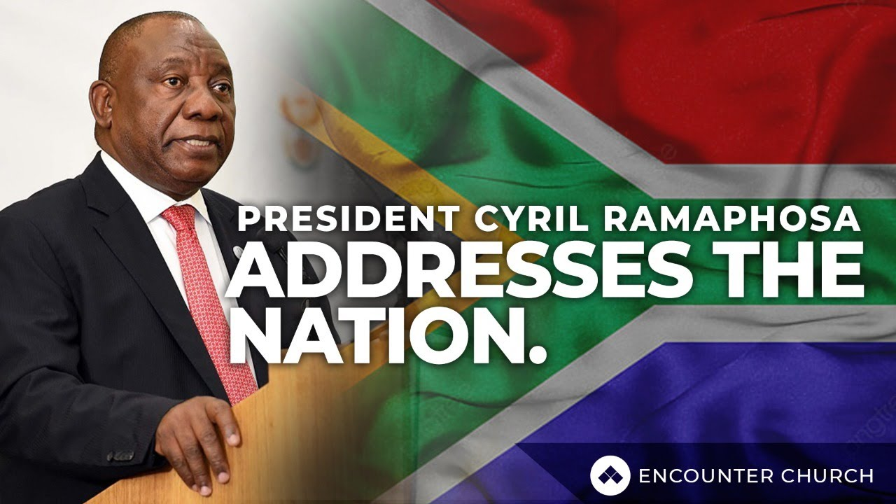 Watch Live President Ramaphosa To Address The Nation At 8pm Tonight