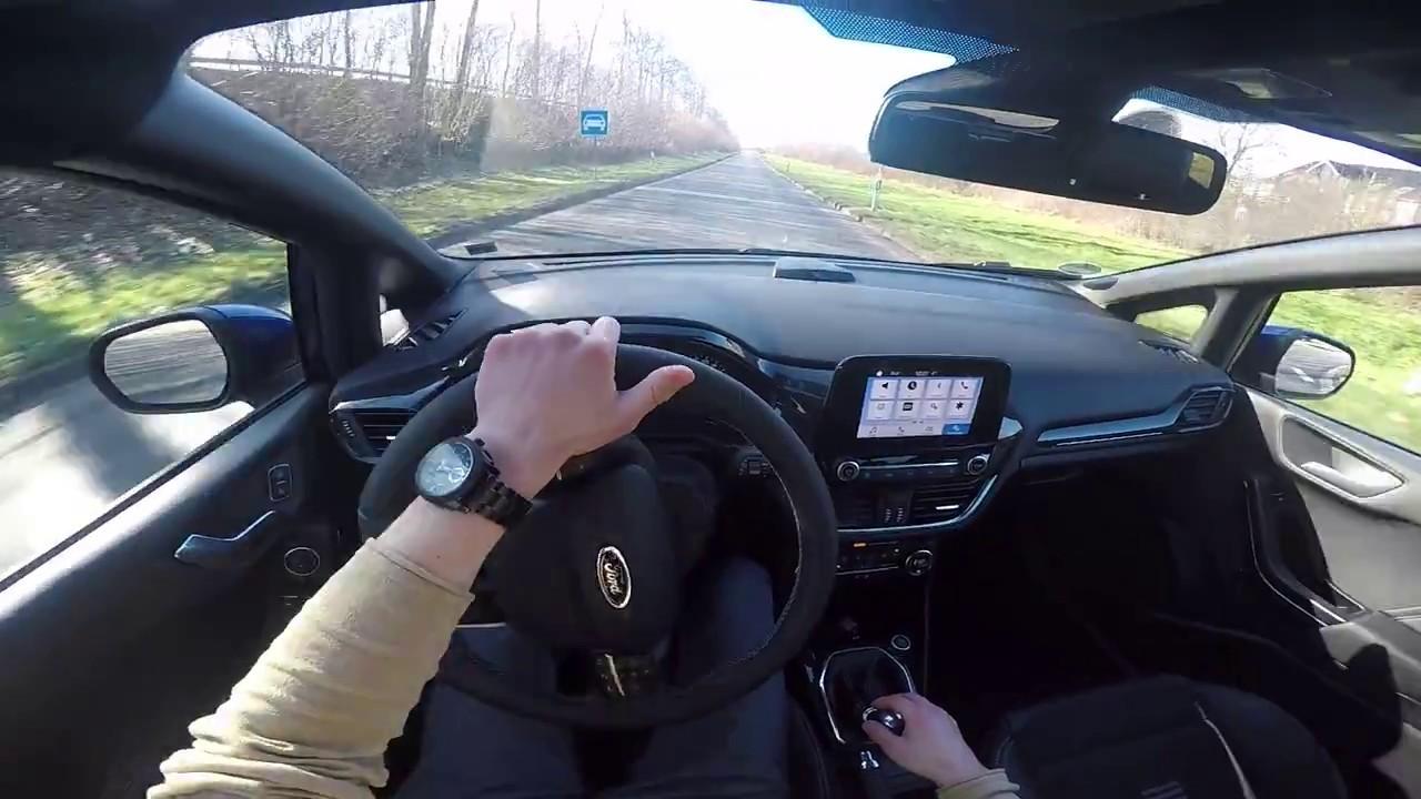 2017 Ford Fiesta St Line 140 Ps Pov Testdrive Youtube