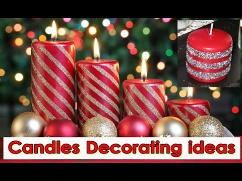 DIY Candles Decorating ideas, Colorful Candle Decor Tips - YouTube