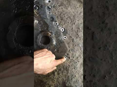 Снятие крышки грм Ниссан Кашкай 2.0 бензин. Open timing belt Nissan Qashqai 2.0 gasoline