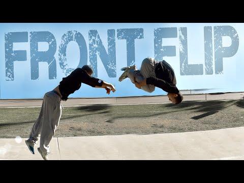 FRONT FLIP (Mortal Para Frente) • Tutorial em Português