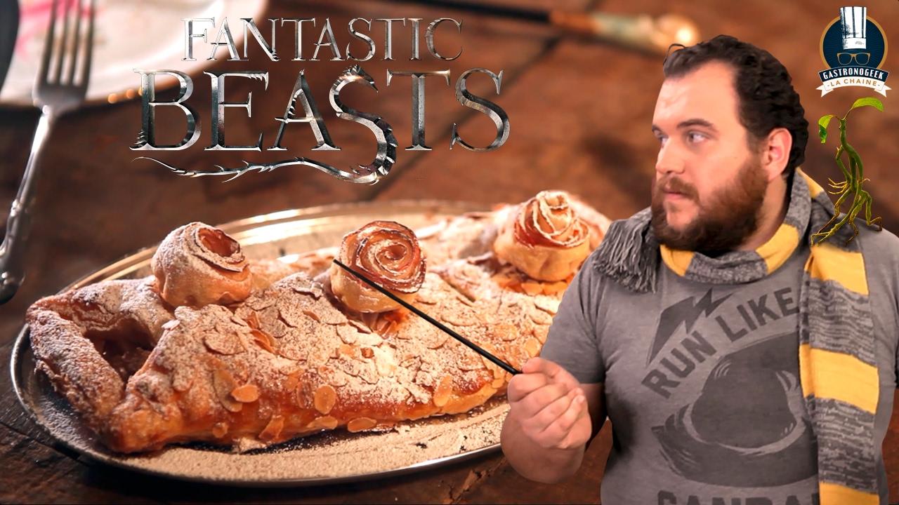 RECETTE LES ANIMAUX FANTASTIQUES - LE STRUDEL DE QUEENIE + BETISIER (S01E09) - Gastronogeek® - YouTube