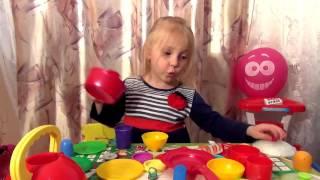 видео детская посуда