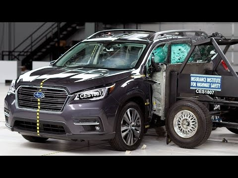 2019 Subaru Ascent Side IIHS Crash Test