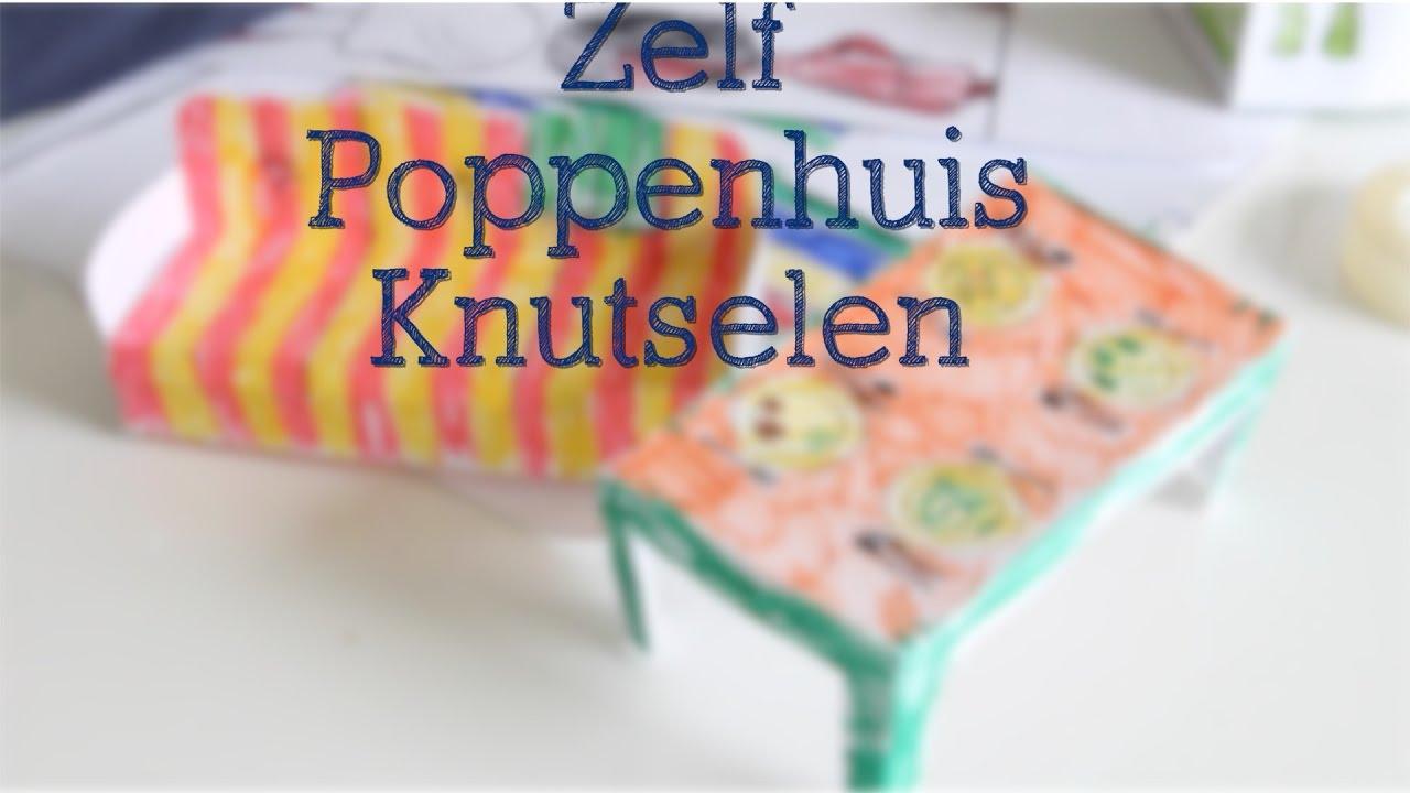 Zelf poppenhuis maken knutselen met liam pelpina youtube for Poppenhuis voor barbie