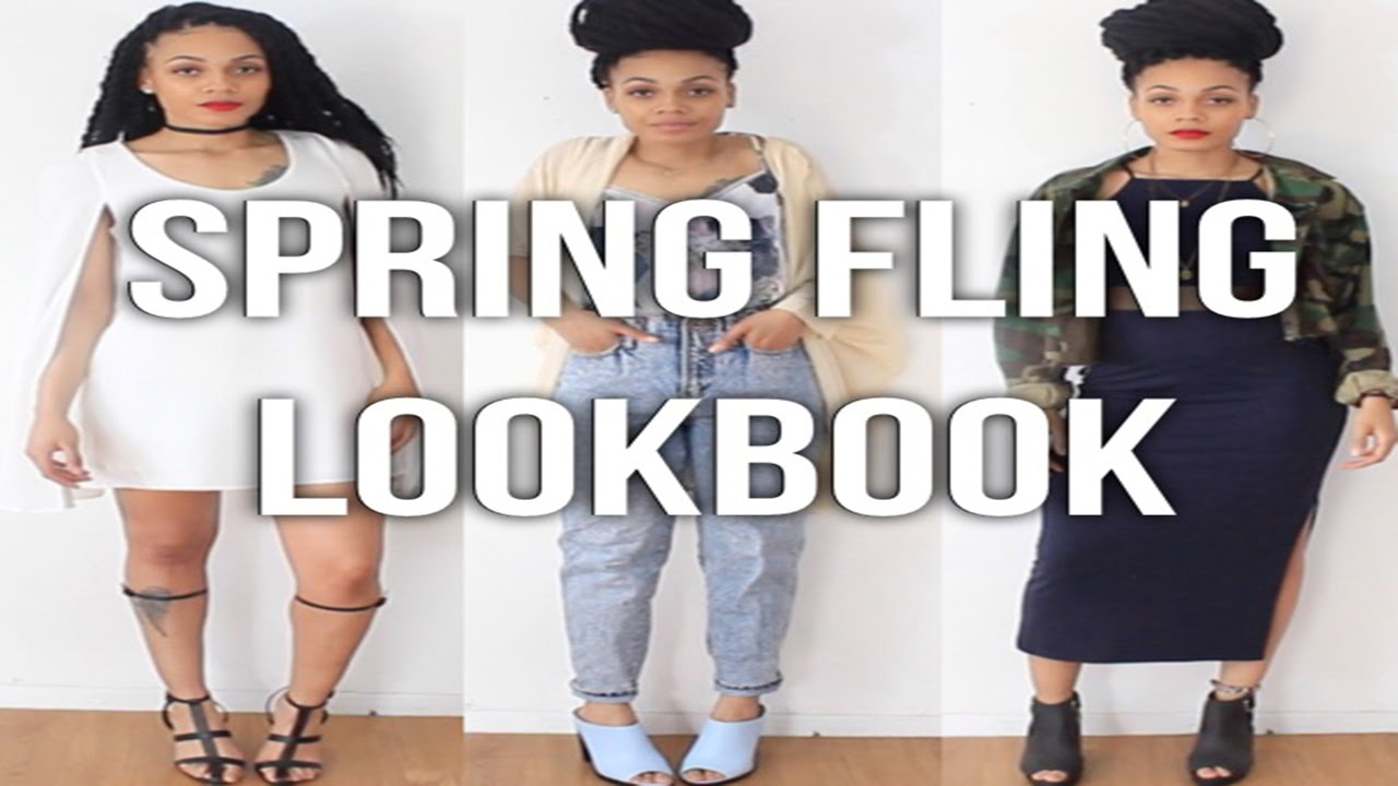 Spring Lookbook || TheNotoriousKIA