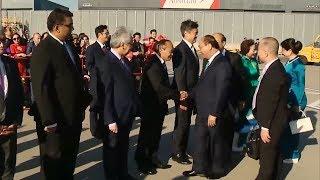 Thủ tướng Nguyễn Xuân Phúc bắt đầu thăm chính thức Áo