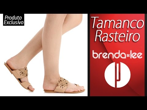 892486d46 Tamanco Rasteiro Feminino Brenda Lee - 6000562004 - YouTube