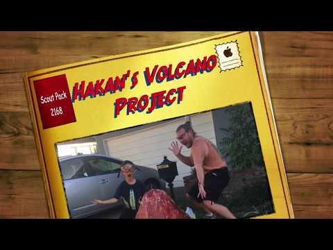 Timelapse Volcano Project: Paper Mache, Vinegar, & Baking Soda