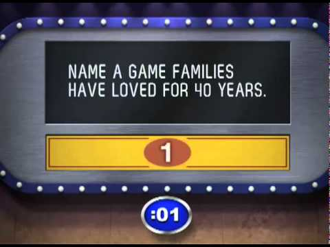 how to make a family feud game