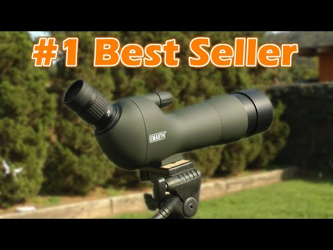 Amazon's Best Selling Spotting Scope (With Footage) Emarth 20-60x60AE Review