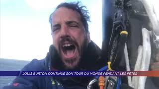 Yvelines | Louis Burton continue son tour du Monde pendant les fêtes