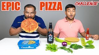 EPIC PIZZA EATING CHALLENGE | Pizza Eating Competition | Food Challenge
