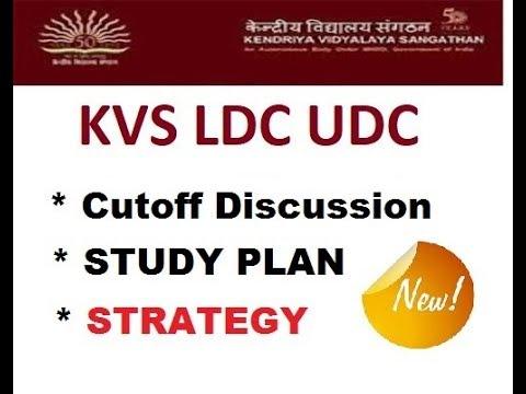Download KVS LDC PREPARATION 2018 - CUTOFF DISCUSSION / COMPLETE STUDY PLAN
