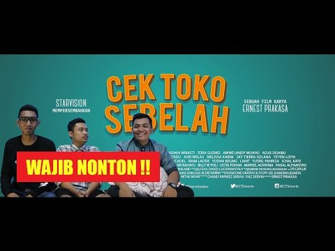 ( Video Appreciation ) CEK TOKO SEBELAH MOVIE Official Teaser