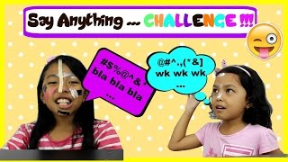 SAY ANYTHING CHALLENGE INDONESIA KIDS ♥ Keira Charma Challenge