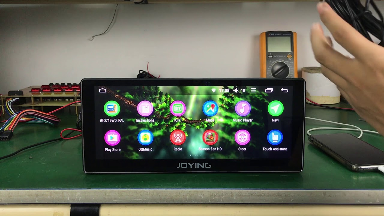 Joying Universal 10 25 Single Din Octa Core Px5 Car Stereo Auto
